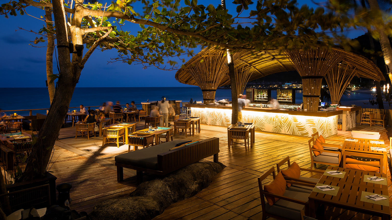 Blue Monkey Bar | Sheraton Samui Resort