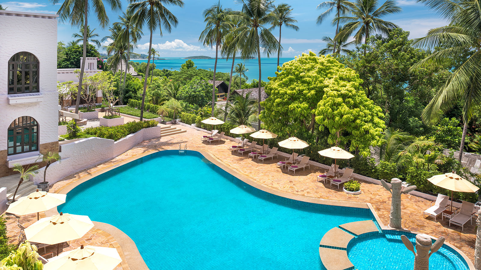 Garden Pool Sheration Samui Resort