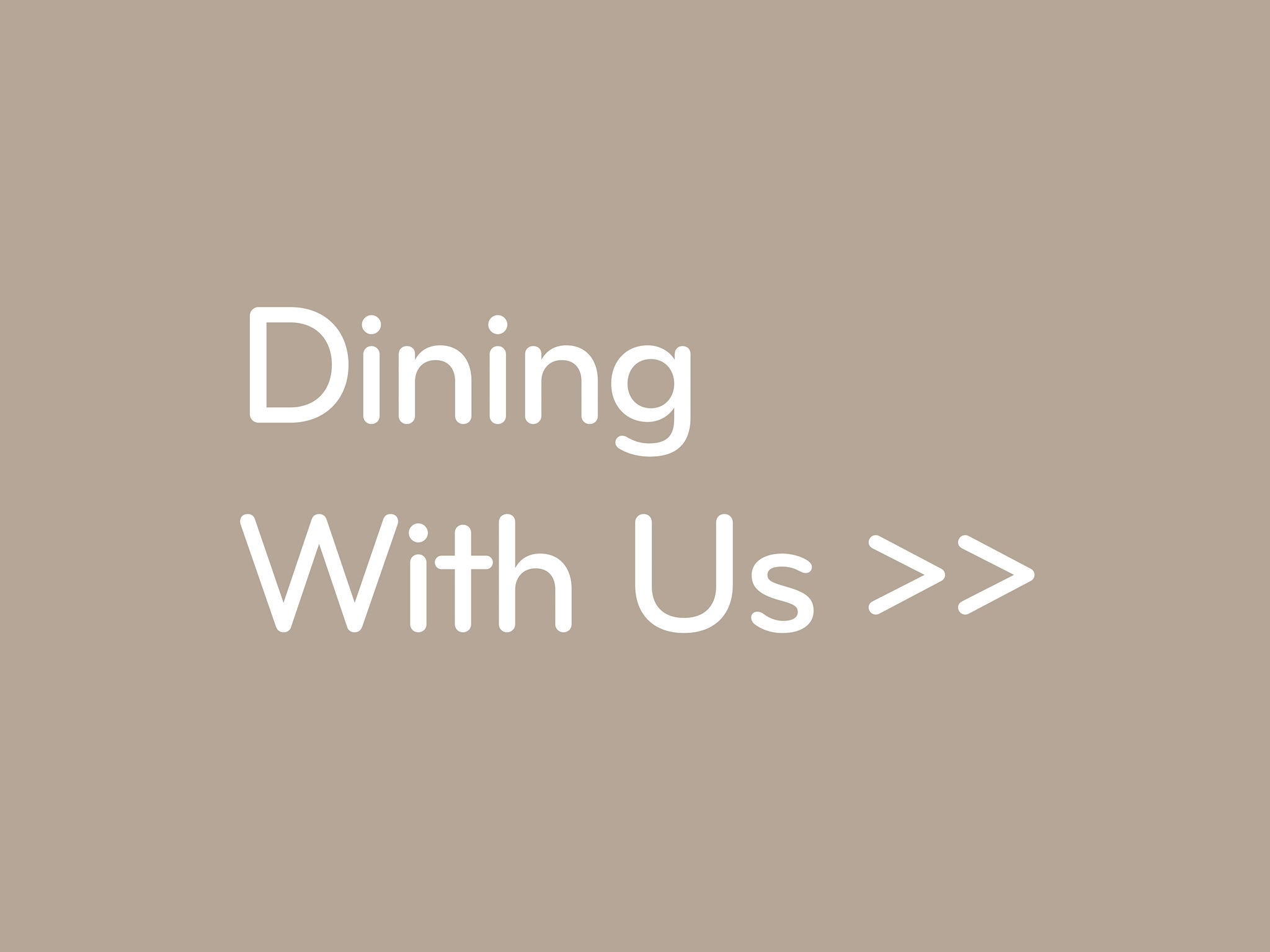 Dining with us